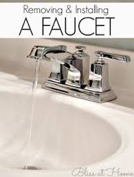 How To Remove A Bathroom Faucet by Replace A Bathroom Sink Dude Stuff Pinterest Sinks Diy