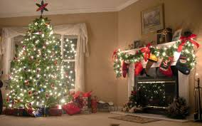 cool fireplace christmas decorations on decoration with christmas
