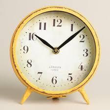Small Desk Clock Metal Small Desk Clock Rs 150 Kreative Gifts Id