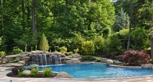 Luxury Pool Design - nj pool landscape design