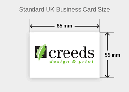 m m design what is a standard business card size creeds design print