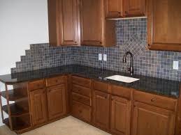 mosaic tile backsplash kitchen ideas brown bar stool wicker basket brown stained backsplash mosaic tile