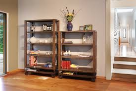 unfinished solid wood bookcases gallery natural wood furnishings