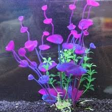 Fish Decor For Home Compare Prices On Purple Aquarium Plant Online Shopping Buy Low