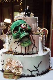 geek cake friday 21 zombie wedding cakes kitchen overlord