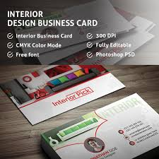 Interior Design Business Cards by Interior Design Business Card