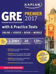 gre premier 2017 with 6 practice tests online book videos