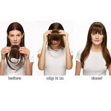 clip in fringe hairdo bangs tru2life clip in fringe with wisps