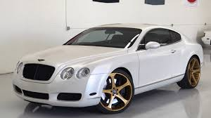matte gold bentley 2004 bentley continental gt s58 1 los angeles 2017