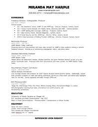 Video Resume Examples by Video Resume Examples Best Template Collection