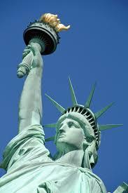 statue of liberty eternal flame illuminati symbols