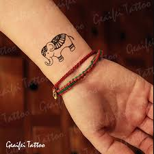 couple temporary tattoos men women small wrist fake transfer