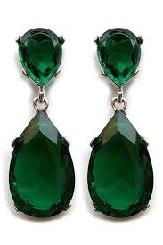 green earrings kyle richards emerald earring steve sasco design