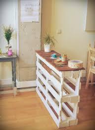pallet kitchen island hoy en el blog un diy muy sencillo construye tu propia barra