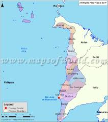 map of province antique map map of antique province philippines