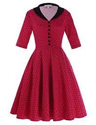 belle poque women u0027s floral tea party vintage 50s swing dresses