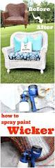 Patio Furniture Guelph by How To Spray Paint Wicker Spray Paint Wicker Painted Wicker And