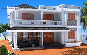 brick home designs evens construction pvt ltd 3d kerala house designs brick house