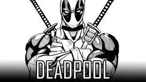 draw deadpool how to draw with quick simple u0026 easy steps for
