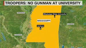 Mississippi State Map Mississippi State Troopers Say There Was No Gunman Just U0027panic