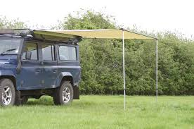 Roll Out Awning For Campervan Pull Out Awning For Land Rovers U0026 Other 4x4s Outhaus Uk