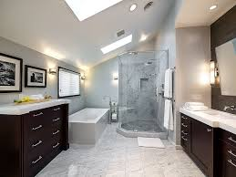 fabulous long attic bathroom design collection performing spa like