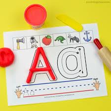 printable alphabet mat alphabet play dough mats with free printable included