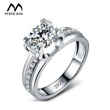 aliexpress buy new arrival white gold color aaa mdean white gold color aaa zircon classic style engagement