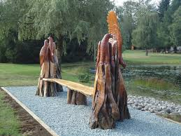 cedar wood sculpture wood sculpture sea to sky sudio