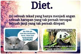 Meme Diet - 21 meme tentang diet yang bikin kamu gagal kurus