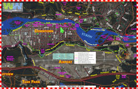 Yukon River Map Loop Walking Trails All Starting From The Vrc In Whitehorse