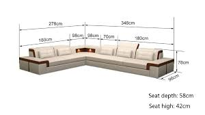 sofa seat depth measurement sofa size black color sectional leather sofa in living room sofas