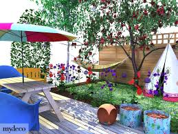 view in gallery small garden ideas child friendly small child