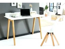 bureau en bois moderne bureau en massif cubic beautiful bois moderne design free table