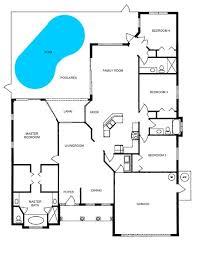 house plans with a pool floor plans for homes with pools ipefi com