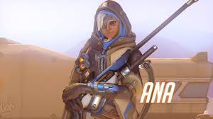 ana overwatch wallpapers photo collection captain amari overwatch wallpaper 4k