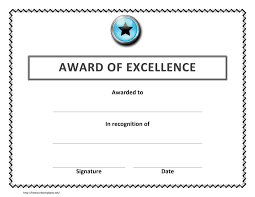 Resume Sample Awards And Recognition by Awards Template Word Masir