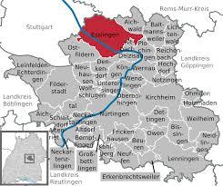 Map Of Stuttgart Germany by Esslingen Am Neckar Wikipedia