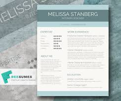 Modern Resume Templates Word Awesome Modern Resume Template Free Word Contemporary Simple