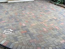 Patio Paver Paver And Brick Patios Rocha Construction Silver Md
