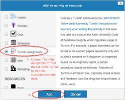 turnitin instructions for printing teachers turnitin aalto
