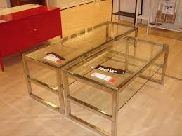 Ikea Coffee Table With Drawers by Ikea Ramvik Coffee Table Glass Top And Storage End Tables For
