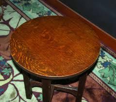 voorhees craftsman mission oak furniture gustav stickley lamp