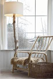 make your own tree branch floor lamp mother earth reuse and earth