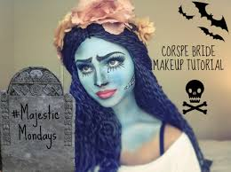 zombie bride spirit halloween halloween make up tutorial corpse bride youtube