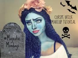halloween zombie bride makeup halloween make up tutorial corpse bride youtube