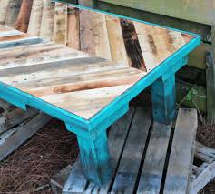 pallet wood coffee painted with annie sloan chalk paint