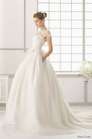 Pink Wedding Dresses With Sleeves Rosa Clara 2016 Wedding Dresses Preview Rosa Clara Ball Gown