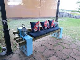 patio ideas cheap outdoor landscape timber bench seating