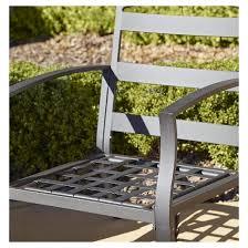 Outdoor Patio Conversation Sets by Serene Ridge 5 Piece Aluminum Outdoor Patio Furniture Conversation